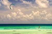 Kite Surfing Painting