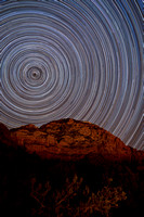 Star Trails Sedona